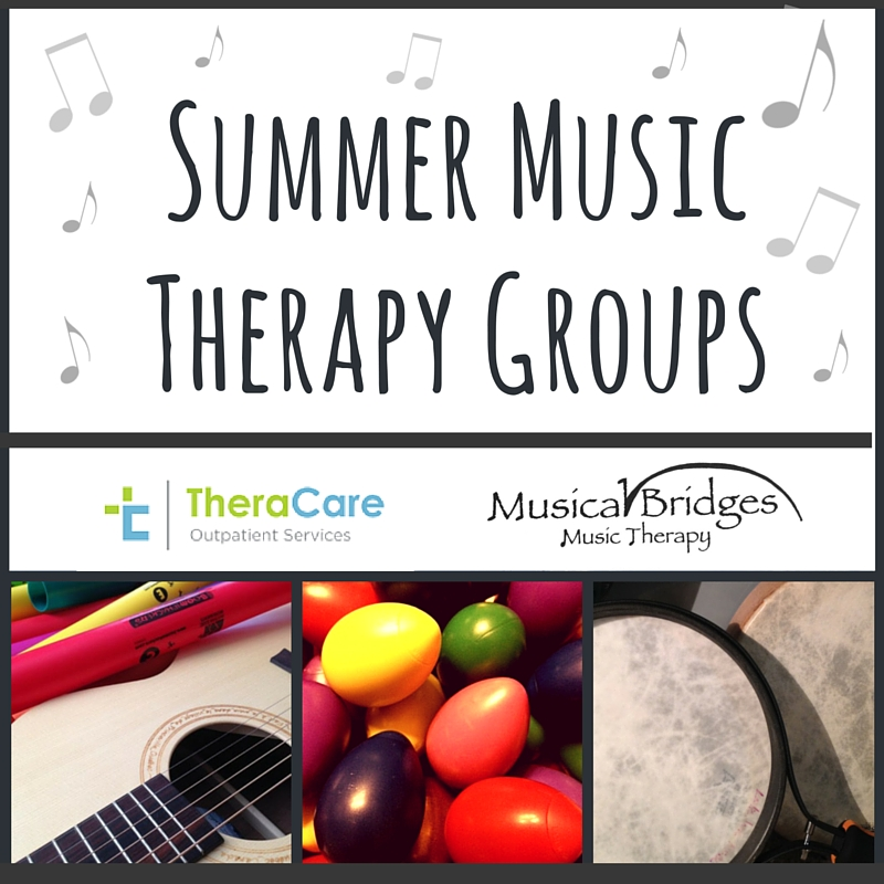 Summer Music Therapy Groups